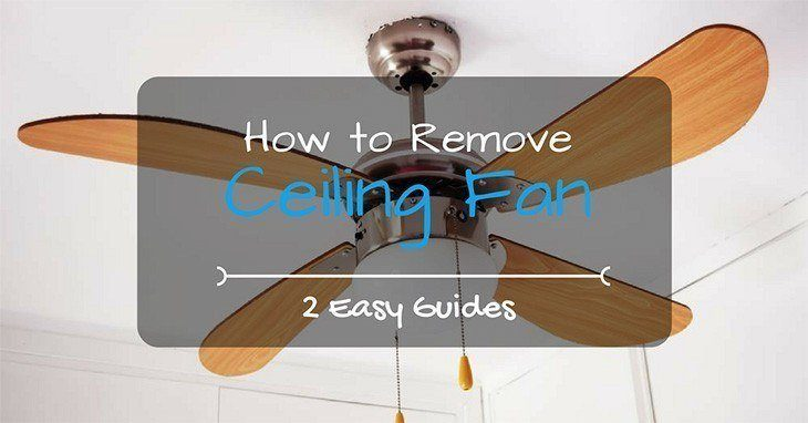 Remove A Ceiling Fan