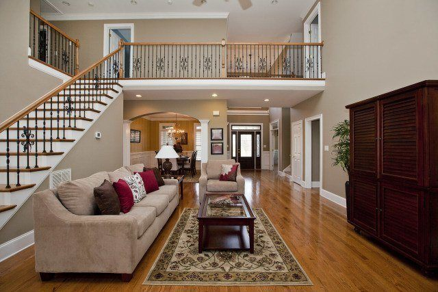 How tall is a two story house a comprehensive analysis for Pictures of nice houses inside