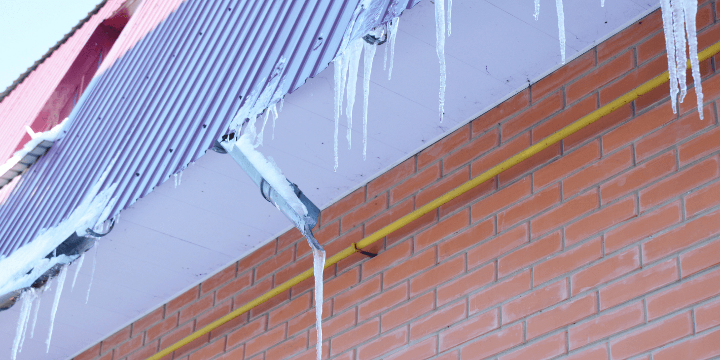 Gutter Guards Aid Mitigation from Freezing and Ice Dams