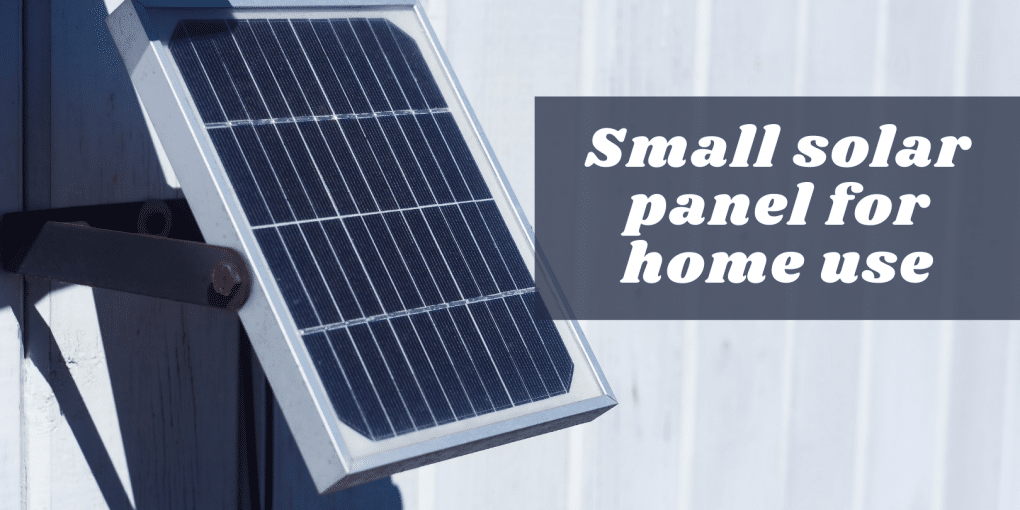 Small Solar Panels For Home Use Solar Power Plant For Residential Area