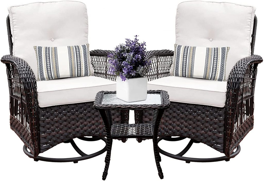Harlie & Stone Patio Outdoor Chairs Set
