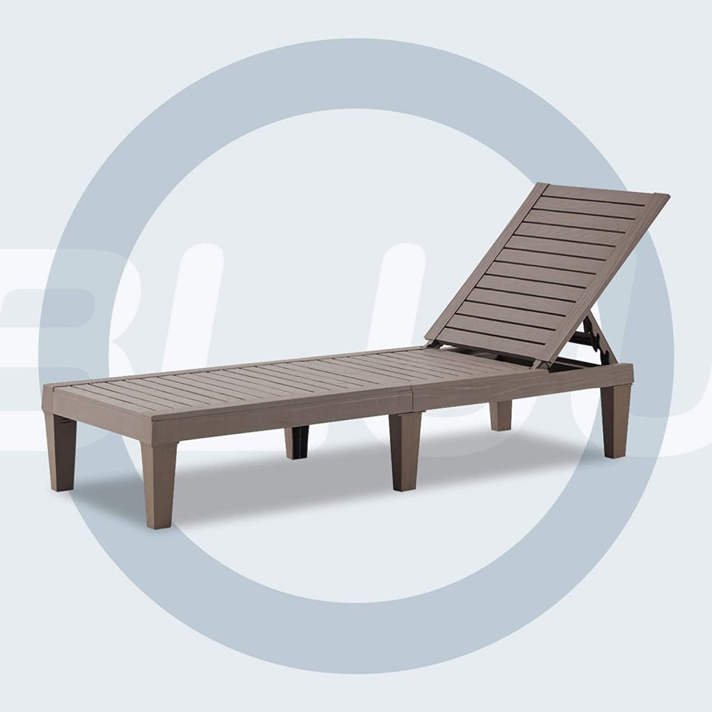 BLUU Patio Chairs-chaise Lounge For Outdoor Use