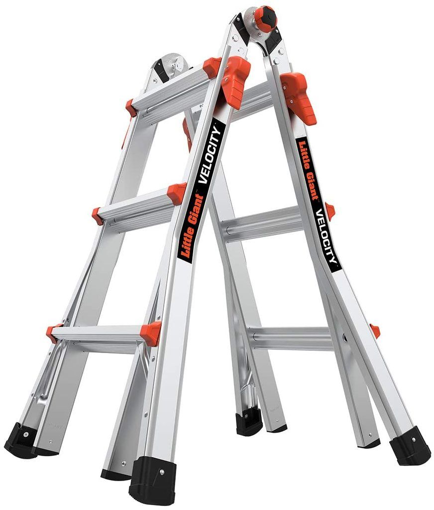 Little Giant Momentum Multi-Use Ladder is the best multi-position ladders